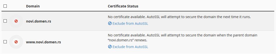 Ispravan sertifikat
