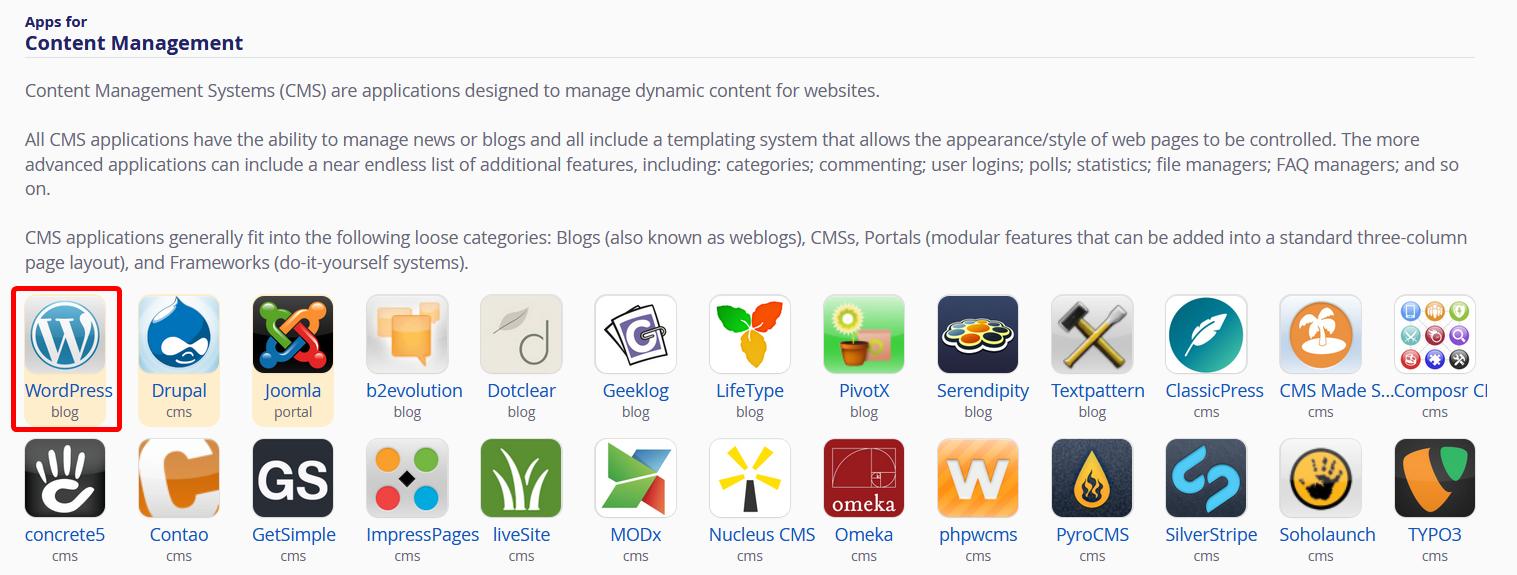 Installatron WordPress Icon