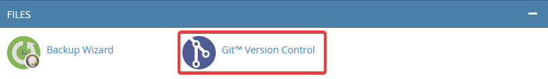 Git Version Control Opcija u cPanel-u