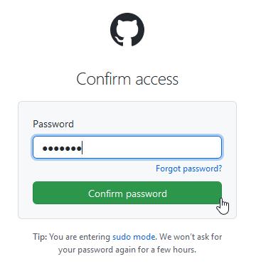 Github dodatna autentifikacija