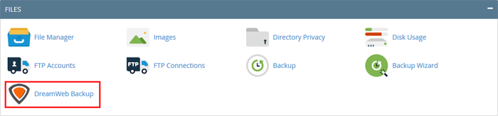 DreamWeb Backup