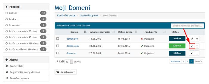 Upravljanje domenom